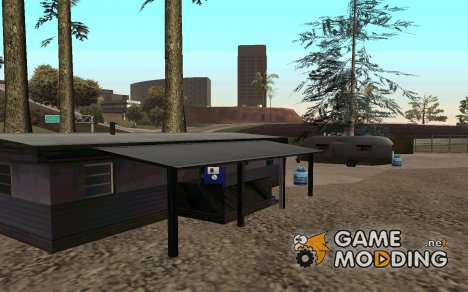 Сохранение в домике у моря для GTA San Andreas
