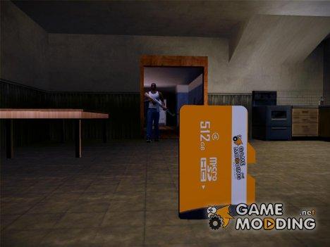 GameModding MicroSDHC для GTA San Andreas
