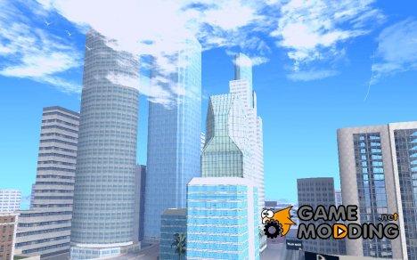 Новые текстуры небоскребов LA для GTA San Andreas