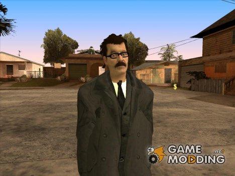 Комиссар Гордон (DC Comics) для GTA San Andreas