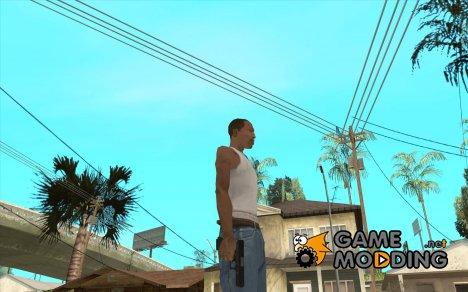 Carbon Glock 17 for GTA San Andreas