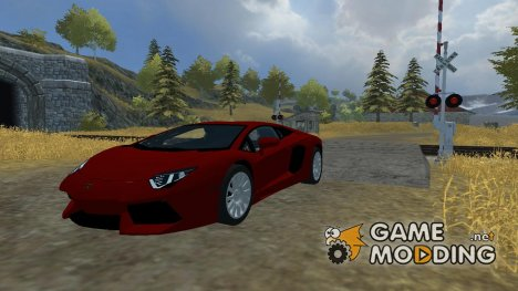 Lamborghini Aventador LP700-4 для Farming Simulator 2013