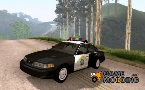 1992 Ford Crown Victoria CHP for GTA San Andreas