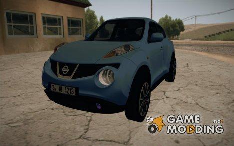 Nissan Juke 2012 for GTA San Andreas