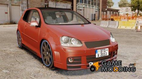 Volkswagen Golf GTi DT-Designs для GTA 4