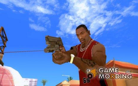 Пистолет с лазерным прицелом для GTA San Andreas