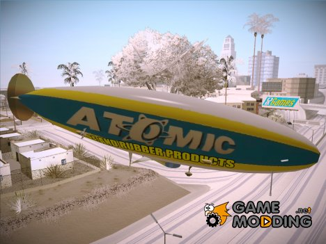 Airship (Дирижабль) из GTA V for GTA San Andreas