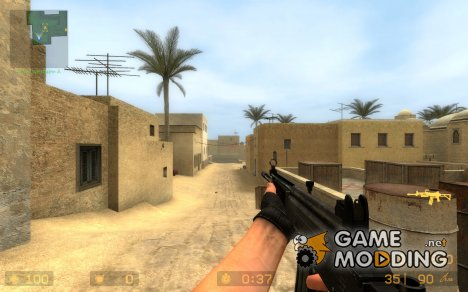 Fivenine's Galil (Dark Chrome) для Counter-Strike Source