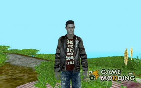 "Chris Redfield ""Stylo"" для GTA San Andreas"