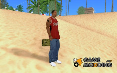 New Satchel for GTA San Andreas