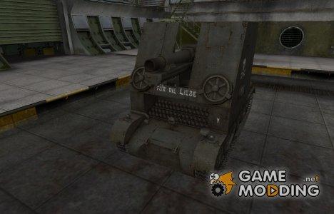 Исторический камуфляж Sturmpanzer I Bison для World of Tanks