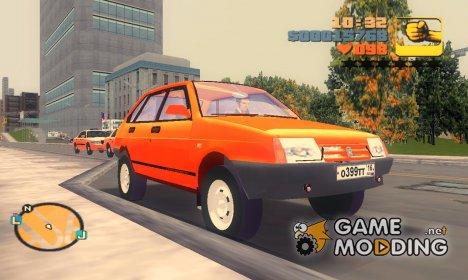 ВАЗ 2109 для GTA 3