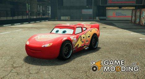 Lightning McQueen BETA для GTA 5