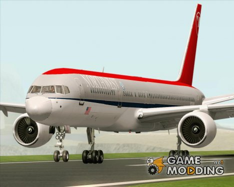 Boeing 757-200 Northwest Airlines for GTA San Andreas