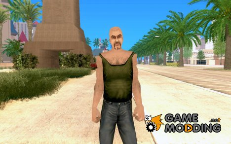 Джеймс Эрл Кэш из Manhunt beta для GTA San Andreas