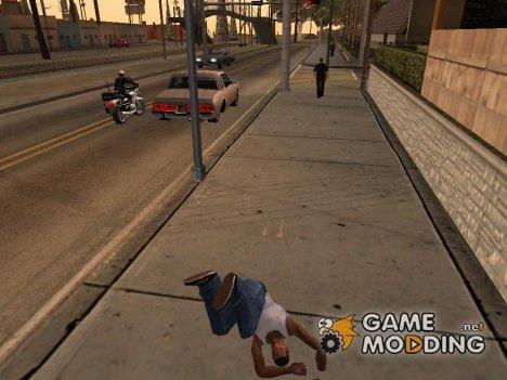 Somersault mod v1.0 for GTA San Andreas