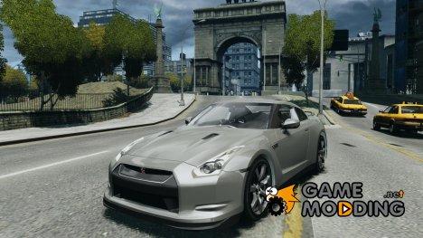 Nissan GT-R R35 2010 for GTA 4