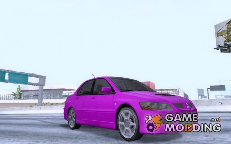 Mitsubishi Lancer Evo 8 FQ400 Skins for GTA San Andreas