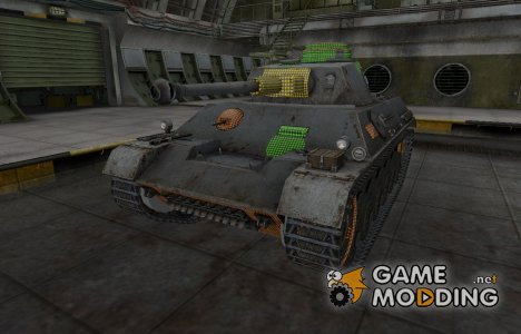 Зона пробития PzKpfw III/IV для World of Tanks