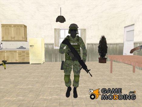 Skin Militar Sedena for GTA San Andreas