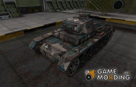 Исторический камуфляж PzKpfw III Ausf. A для World of Tanks