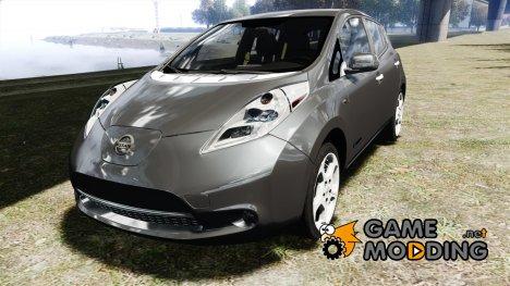 Nissan Leaf 2011 для GTA 4