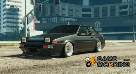 Toyota AE86 Coupe Tunable 0.1 for GTA 5