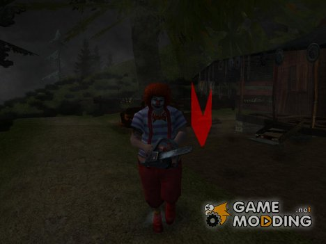 Crazy Clown (Dimon_gta version) для GTA San Andreas