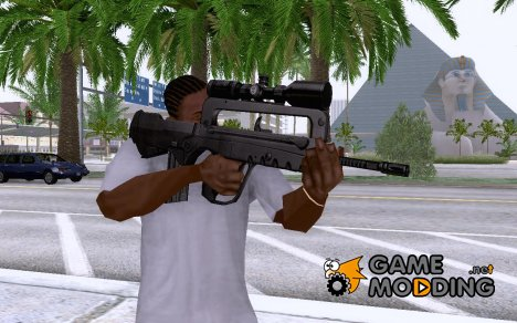 Famas with Scope for GTA San Andreas