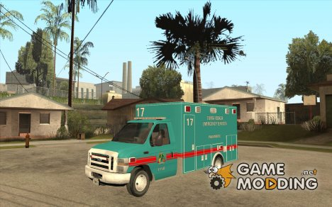 Tierra Robada Emergency Services Ambulance for GTA San Andreas