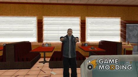 Дополнение мода DeagleStyles / 3 стиля стрельбы от DragonX для GTA San Andreas