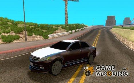 Schafter из GTA EFLC для GTA San Andreas