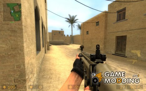 Battlefield3 SCAR-L for Counter-Strike Source