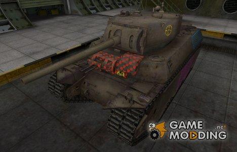 Качественные зоны пробития для M6 для World of Tanks