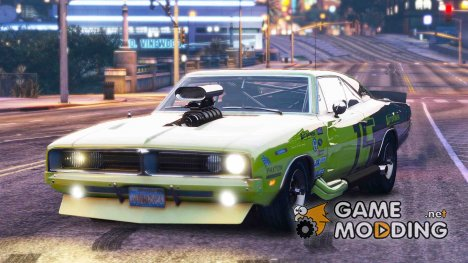 1969 Dodge Charger RT 1.0 for GTA 5