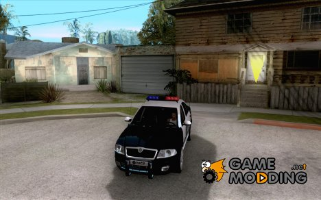 Skoda Octavia II 2005 SAPD POLICE for GTA San Andreas