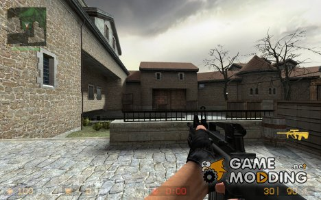 M4A1 + M203 для Counter-Strike Source