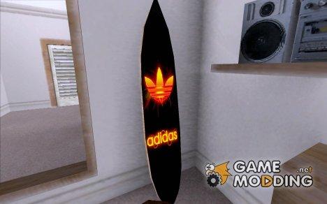 Новый Сёрф в Доме CJ for GTA San Andreas