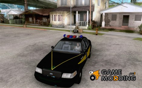 Ford Crown Victoria Indiana Police для GTA San Andreas