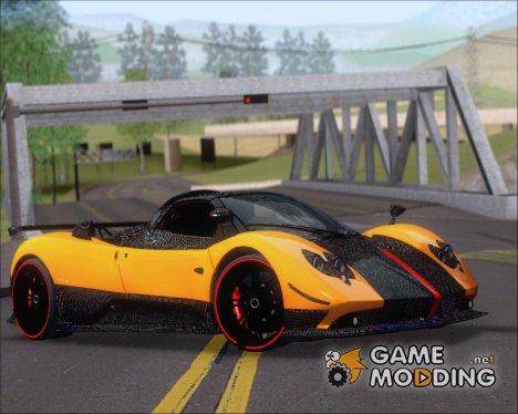 Pagani Zonda Cinque 2009 Autovista для GTA San Andreas