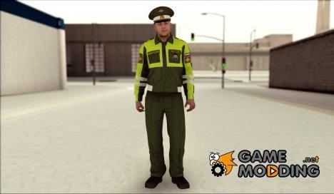 Сотрудник ВАИ для GTA San Andreas