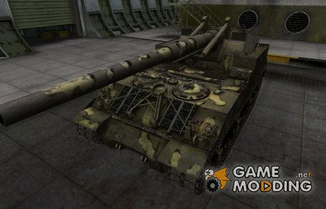 Простой скин M40/M43 for World of Tanks