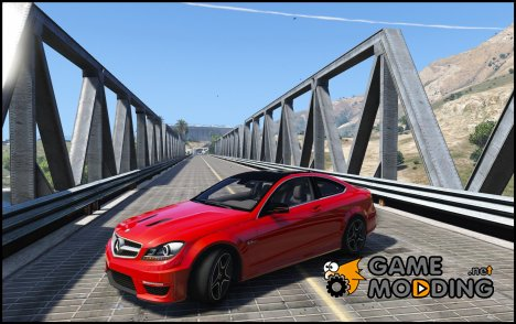 Mercedes-Benz C63 AMG W204 Coupe 1.0 for GTA 5