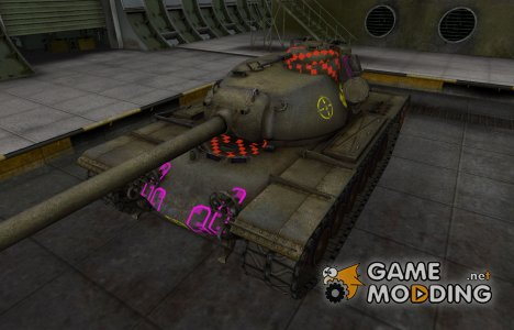 Качественные зоны пробития для T110E5 for World of Tanks