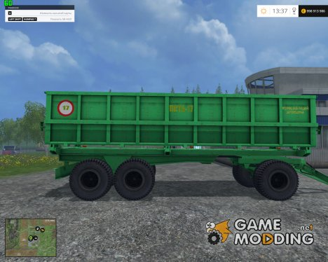 ПСТБ-17 v1.0 for Farming Simulator 2015