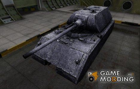 Темный скин для Maus для World of Tanks