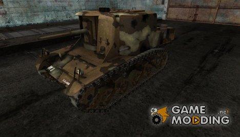 Шкурка для T18 for World of Tanks