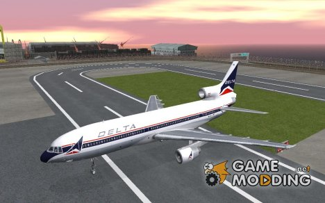 L1011 Tristar Delta Airlines for GTA San Andreas