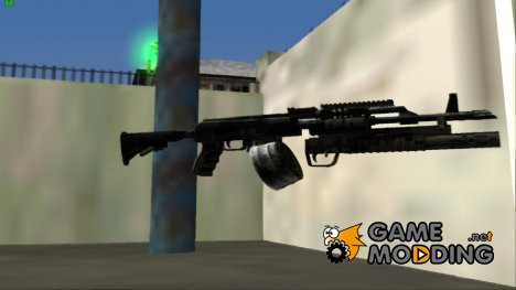 AKM Modern M203 for GTA San Andreas