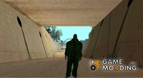 Pack groove street v 0.1 для GTA San Andreas